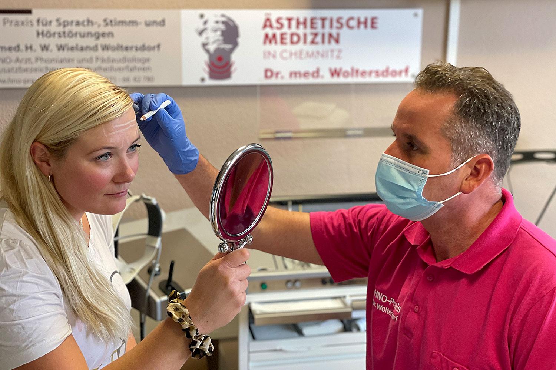 Dr. med. Woltersdorf: Experte für medizinisch-ästhetische Behandlung mit Botulinum