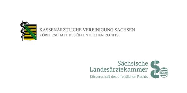 Kassenärztliche Vereinigung Sachsen, Landesärztekammer Sachen (Logos)