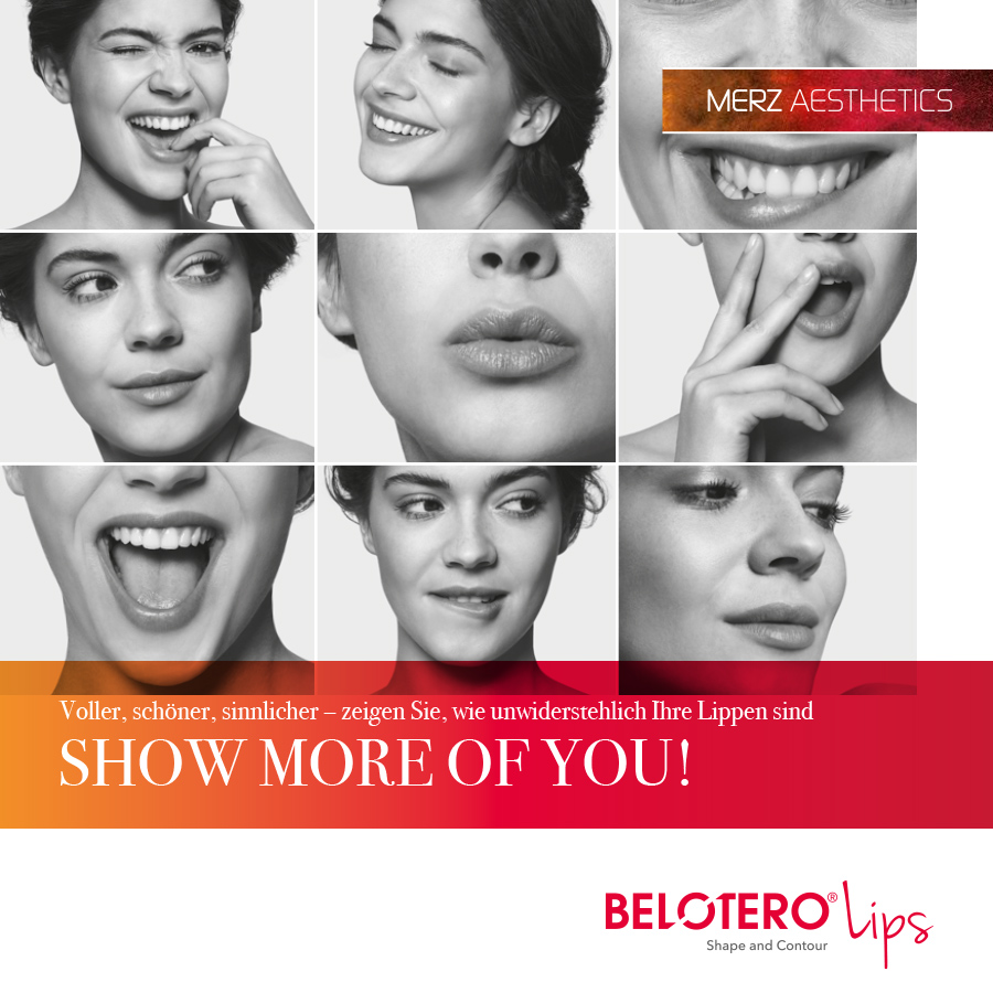 Belotero Lips Kampagne (Merz Pharmaceuticals)